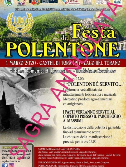 Festa del Polentone 2020 – ANNULLATA