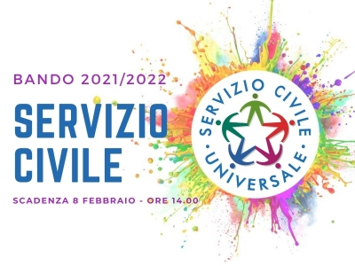 Nuovo Bando Servizio Civile Universale – SCADENZA PROROGATA AL 15 FEBBRAIO 2020